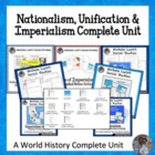 Nationalism, Unification & Imperialism Complete Unit for W