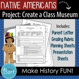 Native American Class Project and Presentation