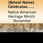 Native American Heritage Month PP announcement