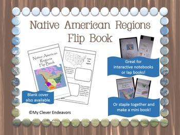 Native American Regions Flip Book