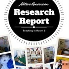 Native American Tribe Research Report Project