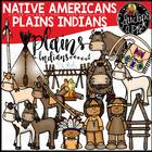 Native Americans-Plains Indians Clip Art