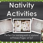 Nativity Activities