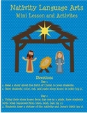 Nativity Language Arts
