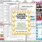 Natural Disasters Project Editable Nonfiction Writing Task
