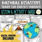Natural Disasters Shape the Earth's Surface with Weatherin