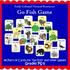 """Natural Resources """"Go Fish"""" Game (Included in Nat Resource"""