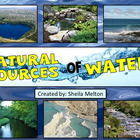Natural Sources of Water Powerpoint {Ocean, Lake, Pond, Ri