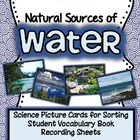Natural Sources of Water {Real pictures to sort and studen