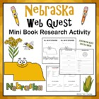Nebraska Web Quest Research Mini-Book Activity