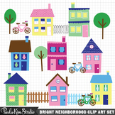 Clipart - Houses