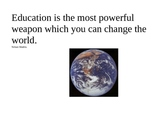 Nelson Mandela The Power to Change the World