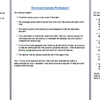 Nervous System Terminology Review Game