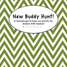 New Buddy Scavenger Hunt