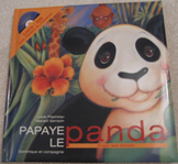 New French Picture Book Papaye le panda CD songs Listening