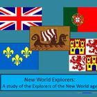 New World Explorers: Interactive Notebook & More