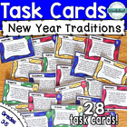 New Year Around the World Creative Thinking Task Cards