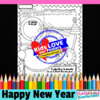 New Year Poster Activity
