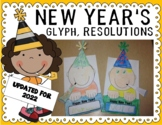 New Year's 2014 Glyph and Resolutions Printables