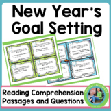 New Year's Goals (Task Cards) Freebie