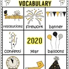 New Years Literacy and Math Unit for Young Learners