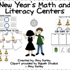 New Year's Math and Literacy Fun