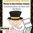 New Years Money Bills Only Center Games and Interactive No