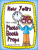 New Years Photo Booth Props FREEBIE
