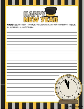 New Year's Resolutions Poem