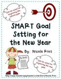 New Years - SMART Goal Setting Flip Book