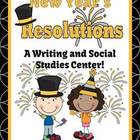 New Years Themed Resolution Writing / Social Studies Center