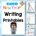 New Year's Writing Activities Worksheets - 26 pages