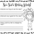 New Year's Writing Activity!