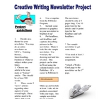 Newsletter Project-Expository, Research and Creative Writi