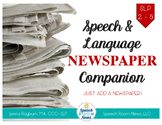 Newspaper Companion: Speech & language pack for any newspaper
