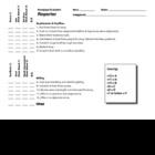 Newspaper Reporter Evaluation Rubric for Assignment