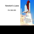 Newton's Laws PowerPoint Presentation