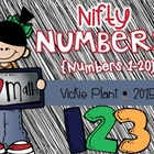 Nifty Numbers {Common Core Activities for Numbers 1-20}