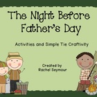 Night Before Father's Day Activities and Craftivity