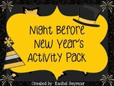 Night Before New Year's January Activity Pack
