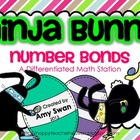 Ninja Bunny Number Bonds - Making 10 & Teens - Differentia