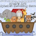 Noah's Ark Alphabet Matching Game {Perfect for VBS or Sund