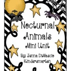 Nocturnal Animals Mini Unit + Old Lady Who Swallowed a Bat
