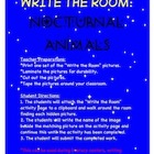 Nocturnal Animals - Write the Room Activity