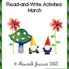 Non-Fiction Common Core Read-and-Write Activities: March
