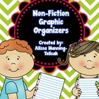 Non-Fiction Graphic Organizers {Common Core Aligned}