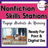 Non-fiction Skills Stations - Common Core Aligned