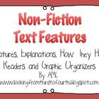 Non-Fiction Text Features, Descriptions, How They Help & G