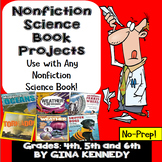 READING INFORMATIONAL TEXT BOOK REPORTS FOR SCIENCE BOOKS,