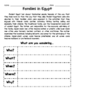Non-fiction Text Questioning (Egypt)